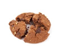 Free Cookies With Nuts And Chocolate Royalty Free Stock Photo - 20694365