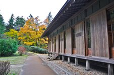 Free Japanese House In Nikko Tamozawa Imperial Villa Royalty Free Stock Images - 20694479