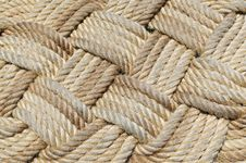 Free Rope Weave. Royalty Free Stock Images - 20695049