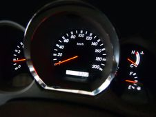 Free Car Dashboard Royalty Free Stock Image - 20695336