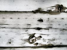 Old Wooden Walls. Royalty Free Stock Photography