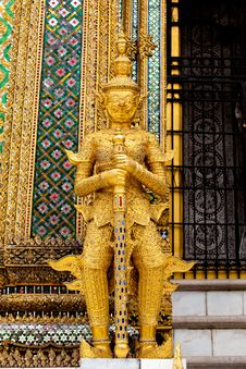 Free Giant At Wat Phra Kaew Stock Photos - 20695533