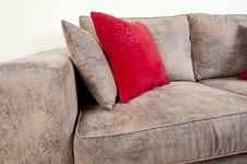 Free Sofa In A Living Room Stock Image - 20695571