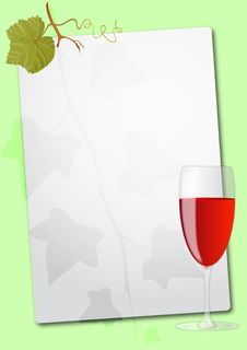 Free Wine Glass Sheet Stock Photo - 20695810