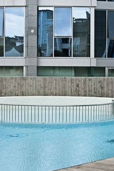 Modern Hotel Stock Photography