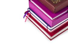 Free A Stack Of Books And Notebooks Royalty Free Stock Photos - 20697158