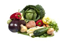 Free Group Of Fresh Vegetables Stock Image - 20697431