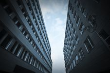 Free Blue Office Buildings Stock Images - 20697514