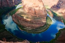 Free Horseshoe Bend Stock Photo - 20697570