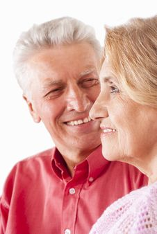 Free Elderly Couple Portrait Royalty Free Stock Image - 20699326