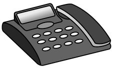Free Telephone Answering Machine Royalty Free Stock Photography - 20699537
