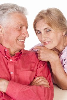 Free Nice Aged Couple Stock Images - 20699604