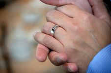 Free ROM: Groom S Ring Royalty Free Stock Image - 20699606