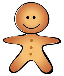 Free Gingerbread Man Royalty Free Stock Photo - 20699775