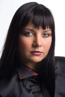 Free Beauty Brunette Portrait Stock Image - 2070211