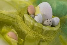 Happy Easter - Eggs Royalty Free Stock Image