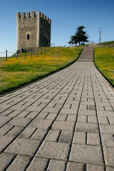 Free Stone Tower Royalty Free Stock Image - 2071446