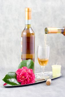 Free Wine For Her Stock Image - 2071991