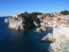 Free Dubrovnik Fort Royalty Free Stock Images - 2072319