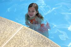 Free Poolside Girl Royalty Free Stock Image - 2072476
