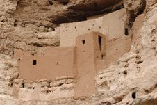 Montezuma Castle Ruins Royalty Free Stock Images