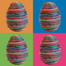 Free Four Eastereggs Royalty Free Stock Image - 2073256