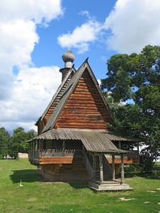 Free Wooden Churche Without Cross. Stock Photo - 2073800