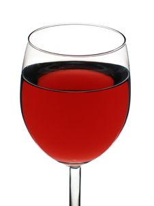 Free Glass Of Red Wine Royalty Free Stock Photo - 2073975