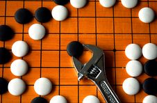 Free The Game Of Go Royalty Free Stock Image - 2074306