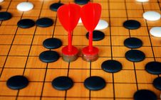 Free The Game Of Go Stock Image - 2074471