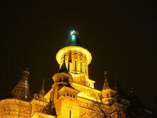 Mitropolitan Cathedral Timisoara 2 Royalty Free Stock Photography