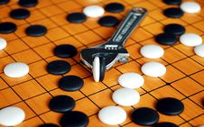 Free The Game Of Go Stock Image - 2074561