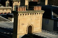 Free Victorian Chimney Stack Royalty Free Stock Image - 2074566