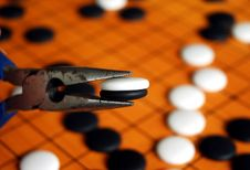 Free The Game Of Go Stock Image - 2074571