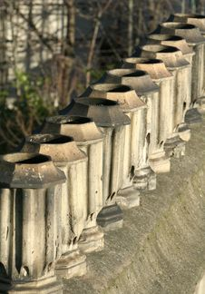 Free Chimney Pots Stock Photography - 2074572