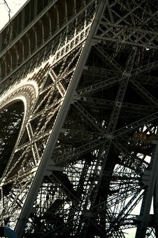 Free Eiffel Tower, Abstract View Stock Images - 2074714