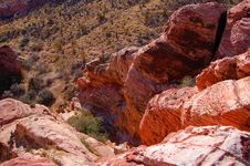 Free Red Rock Royalty Free Stock Image - 2075096