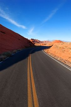 Free Red Rock Canyon Stock Photography - 2075122