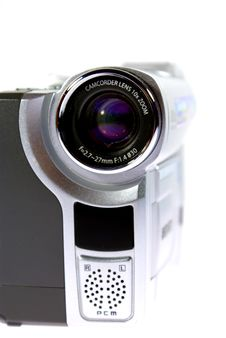 Mini DV Camera Clouse - UP Royalty Free Stock Images