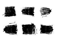 Free Abstract Brushes 1 Royalty Free Stock Photography - 2076777