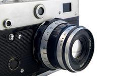 Free Old Rangefinder Royalty Free Stock Photos - 2076818
