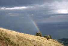 Free Rainbow At Crimea Royalty Free Stock Photos - 2077158