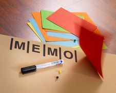 Free Memo Board Royalty Free Stock Image - 2078446