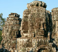 Free Smiling Faces Of Bayon Royalty Free Stock Photos - 20700468