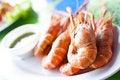 Free Freshwater Prawn Seafood. Royalty Free Stock Photography - 20701447