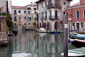 Free Buildings On A Canal In Venice Stock Images - 20709274