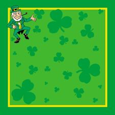 Free St. Patrick S Day Card Invite Stock Photos - 20700023