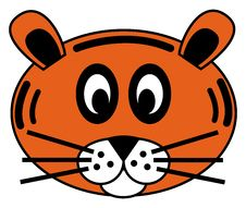 Free Tiger Face Stock Image - 20700051