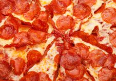 Free Pepperoni Pizza Royalty Free Stock Photo - 20700055