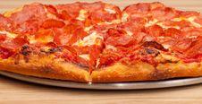 Free Pepperoni Pizza Stock Photo - 20700080